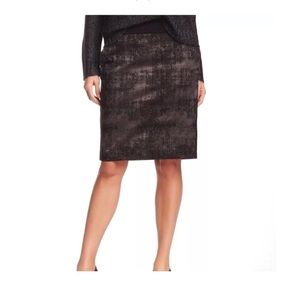 638fae62cd0 NWT Eileen Fisher Jacquard Pencil Skirt XS